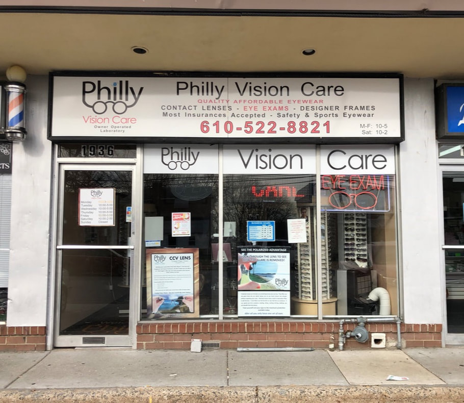 Welcome to Philly Vision Care - Prescription Eyeglasses I